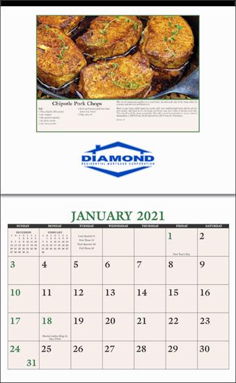 Picture of Calendar Home Recipe